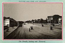 The Parade, Looking East, Norwood, c1885