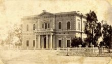 Institute Building, Adelaide, c1875
