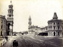 King William Street, c1880