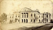 Law Court, Victoria Square, Adelaide, c1875