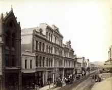 Rundle Street, 4.56pm, c1885