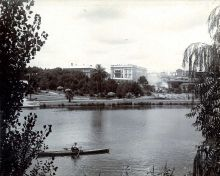Torrens River, Adelaide, c1910