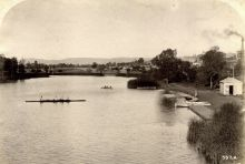 Torrens River, Adelaide, c1900